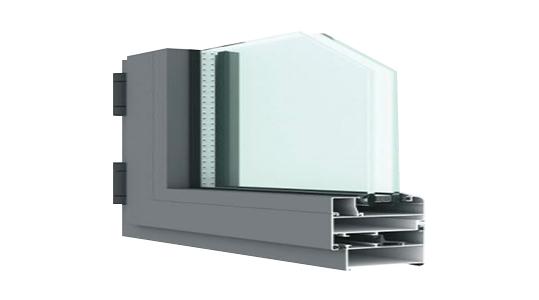 江苏LP55型节能平开气密窗系统