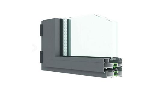 LN55 节能平开系统