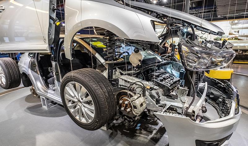 汽车零部件铝型材